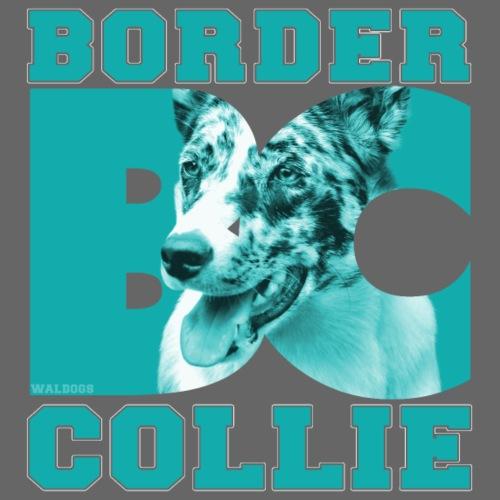 Border BC Collie V - Miesten premium t-paita