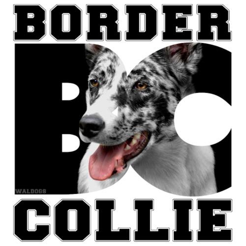Border BC Collie III - Miesten premium t-paita