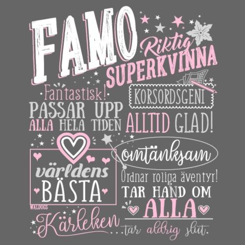 Famo Farmor WP - Miesten premium t-paita