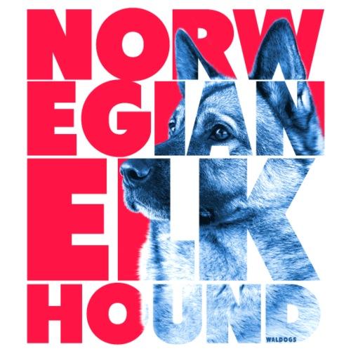 NASSU Norjanharmaa 3 - Miesten premium t-paita