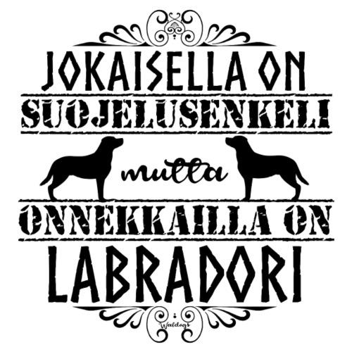Labradorinnoutaja Enkelini4 - Miesten premium t-paita
