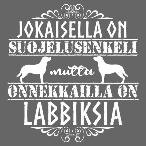 Labradorinnoutaja Enkelini2 - Miesten premium t-paita