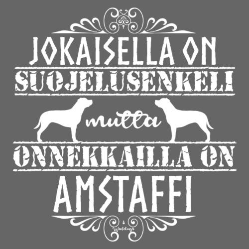 Amstaffi Enkeli 2 - Miesten premium t-paita