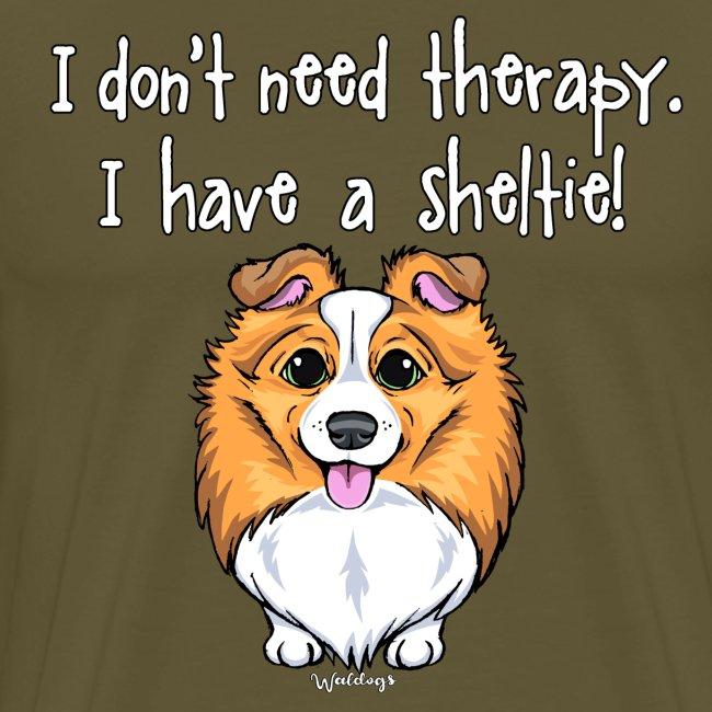 Sheltie Dog Therapy 2