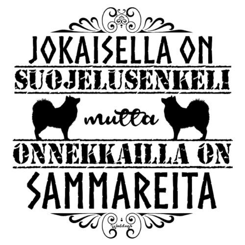 Sammari Enkelit M - Miesten premium t-paita