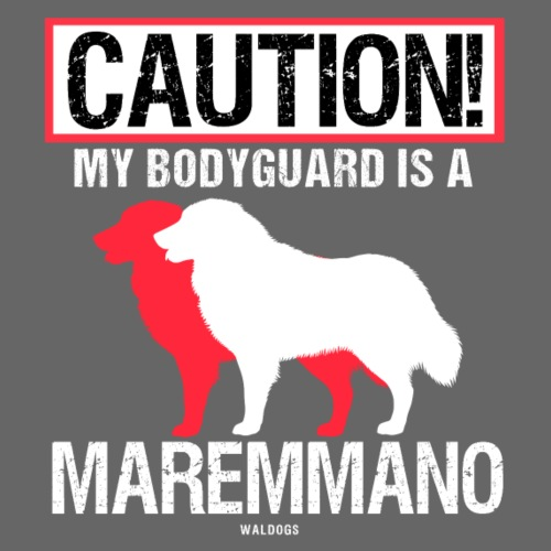 Maremmano Bodyguard II - Miesten premium t-paita
