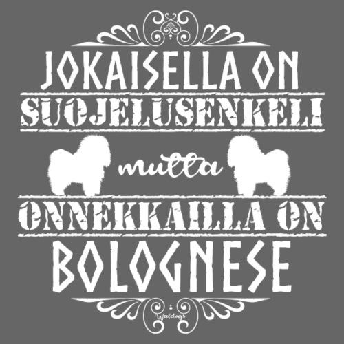 Bolognese Enkeli - Miesten premium t-paita
