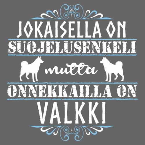 Valkki Enkeli - Miesten premium t-paita