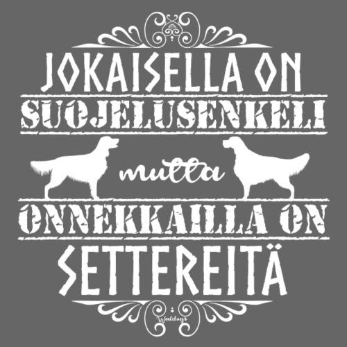 setterienkeleitä - Miesten premium t-paita