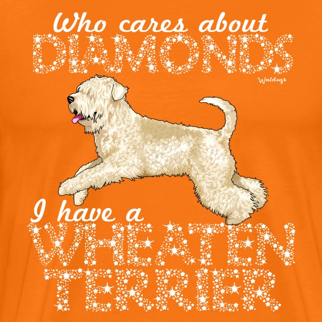 Wheaten Terrier Diamonds 4