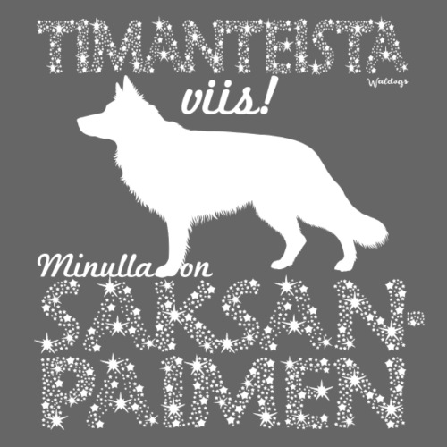 Saksanpaimen PK Dimagni - Miesten premium t-paita