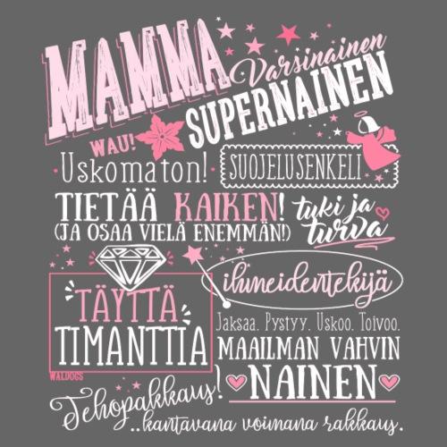 Mamman Oma Paita - Miesten premium t-paita