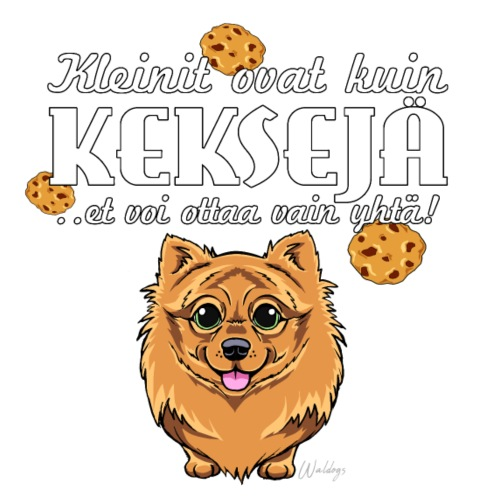 Kleini Keksit II - Miesten premium t-paita