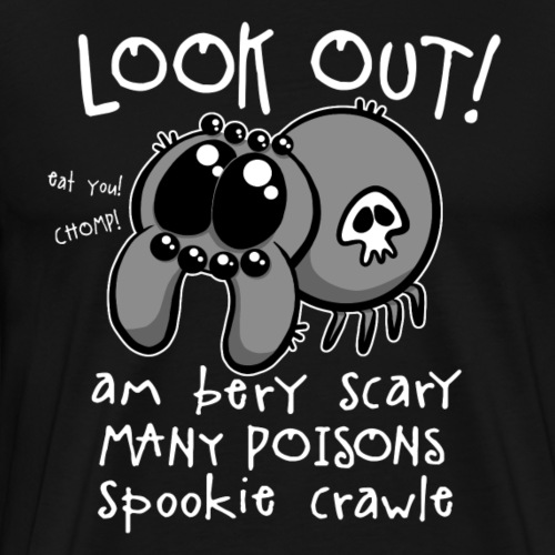 Spookie Crawle II - Miesten premium t-paita