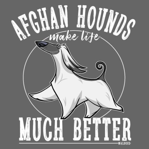 Afghans Better - Miesten premium t-paita