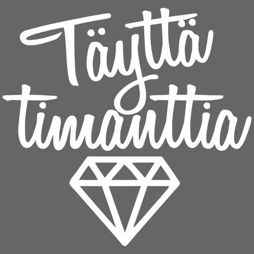 Täyttä Timanttia - Miesten premium t-paita