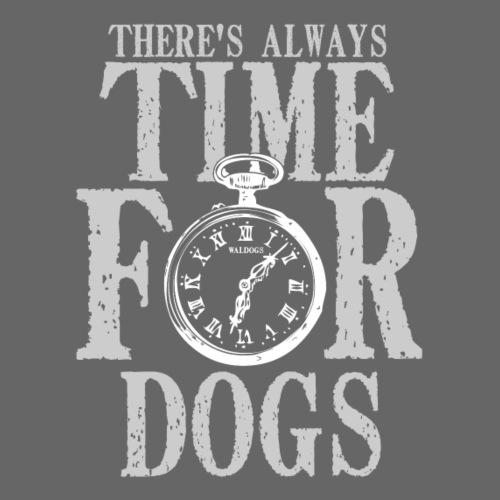 Time for Dogs III - Miesten premium t-paita