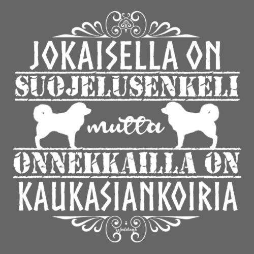 Kaukasiankoira Enkeli 3 - Miesten premium t-paita