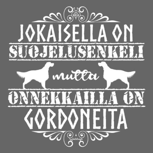 Gordoninsetteri Enkeli2 - Miesten premium t-paita