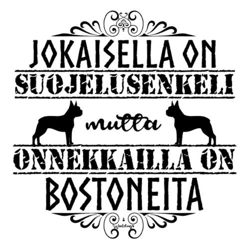 Boston Enkeli M - Miesten premium t-paita