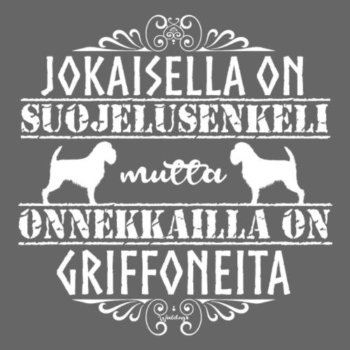 Griffon Enkeli - Miesten premium t-paita