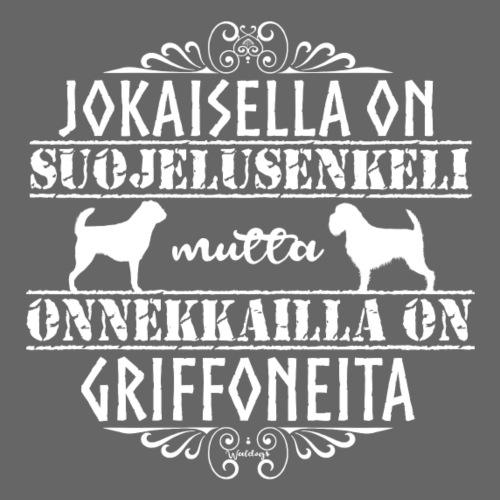 Griffon Enkeli 2 - Miesten premium t-paita