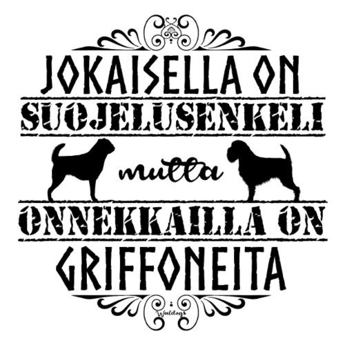 Griffon Enkeli M - Miesten premium t-paita