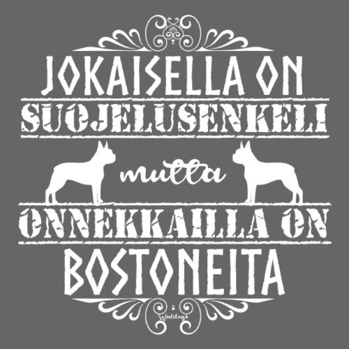 Boston Enkeli - Miesten premium t-paita