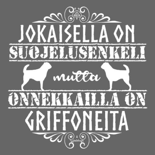 Griffon Enkeli 3 - Miesten premium t-paita