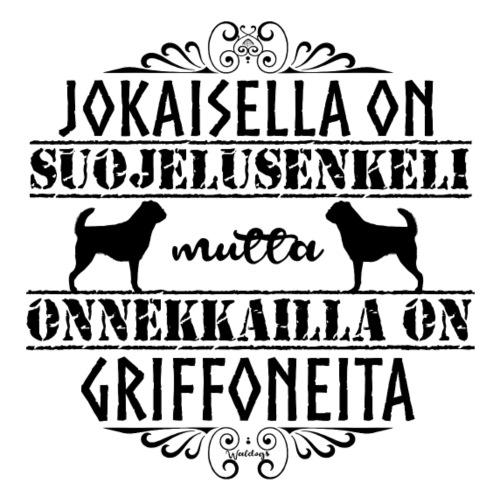 Griffon Enkeli M 2 - Miesten premium t-paita