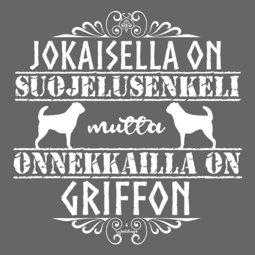 Griffon Enkeli 4 - Miesten premium t-paita
