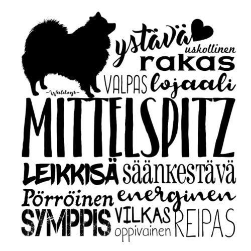 sanatmitteli2 - Miesten premium t-paita