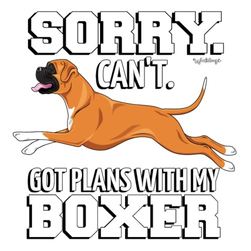 Boxer Plans 3 - Miesten premium t-paita