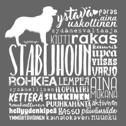 Stabijhoun Sanat V - Miesten premium t-paita