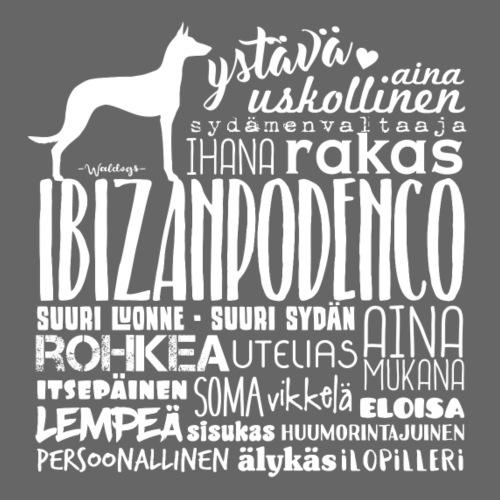Ibizanpodenco Sanat V - Miesten premium t-paita