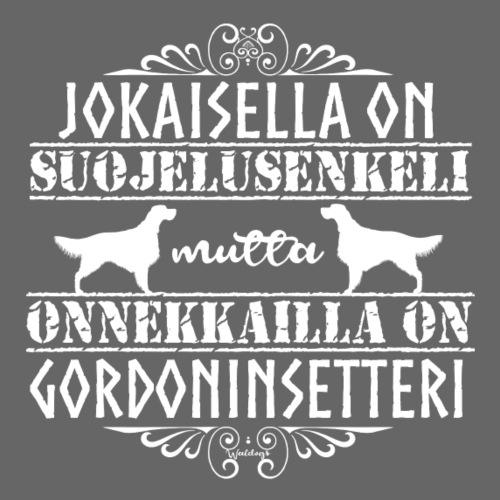 Gordoninsetteri Enkeli - Miesten premium t-paita