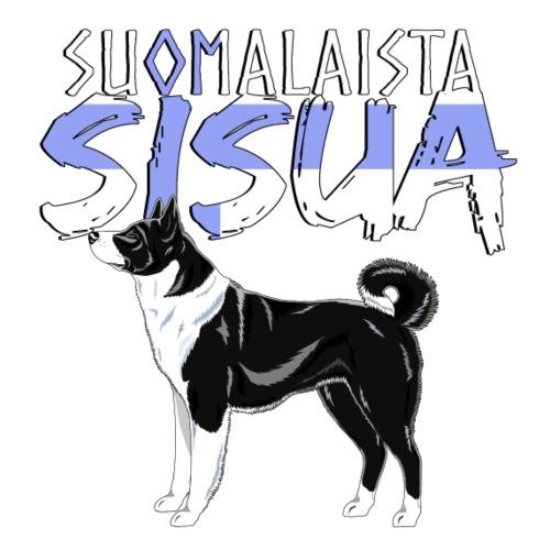 Karhukoira Sisua - Miesten premium t-paita