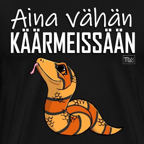 Vähän Käärmeissään IV - Miesten premium t-paita