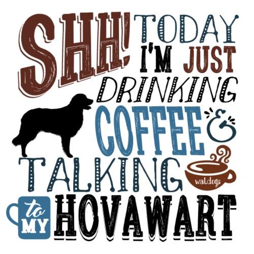 SHH Hovawart Coffee B - Miesten premium t-paita