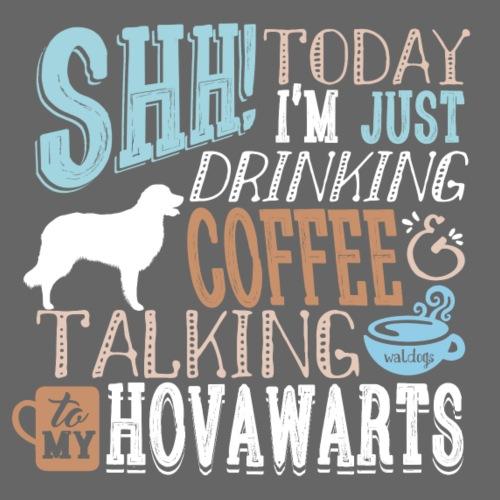 SHH Hovawart Coffee - Miesten premium t-paita