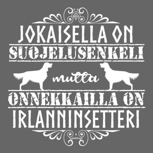 irlanninsetterienkeli - Miesten premium t-paita