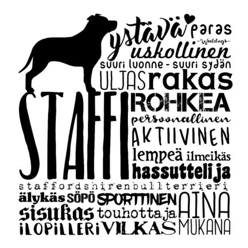 staffisanatx - Miesten premium t-paita