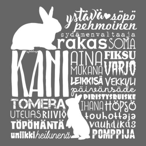 Kani Pupu Sanat 1 - Miesten premium t-paita