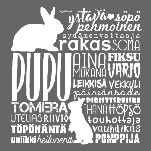 Kani Pupu Sanat 2 - Miesten premium t-paita