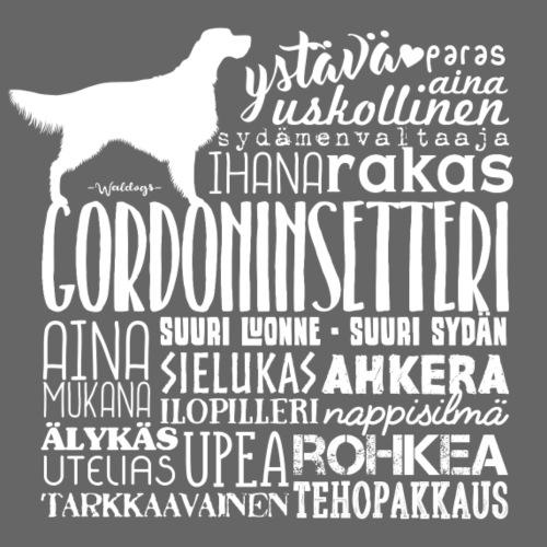 Gordoninsetteri Sanat - Miesten premium t-paita