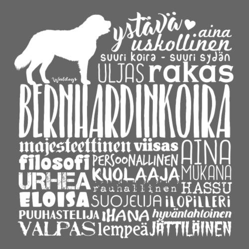 Bernhardin Sanat V - Miesten premium t-paita
