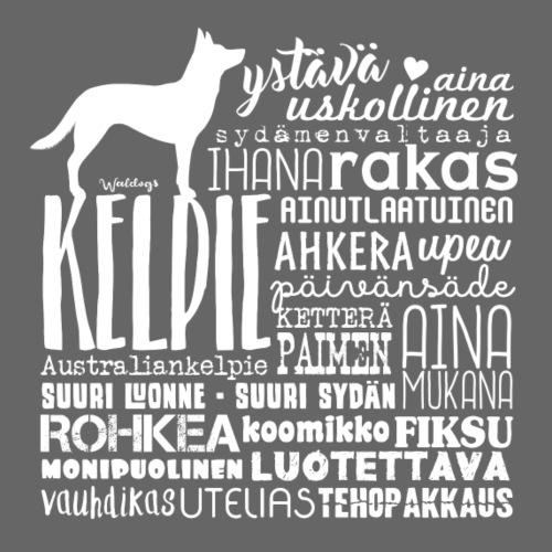 Kelpie Sanat V - Miesten premium t-paita