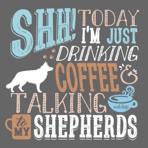 SHH GSD Coffee 3 - Miesten premium t-paita