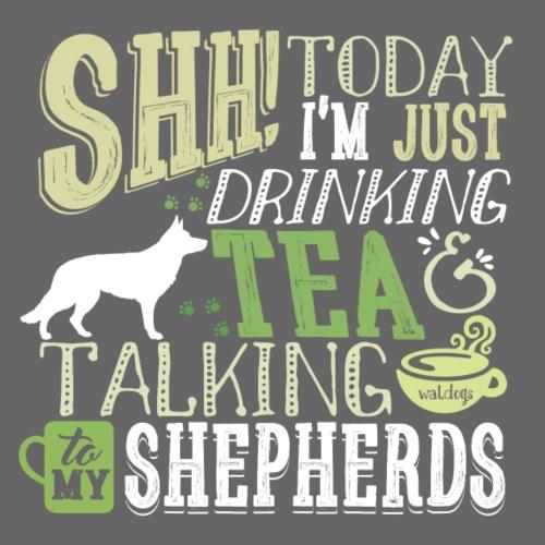 SHH GSD Tea 2 - Miesten premium t-paita