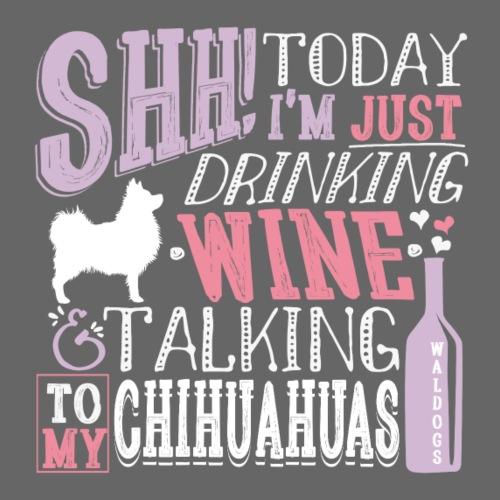 SHH Chihu Wine 001 - Miesten premium t-paita